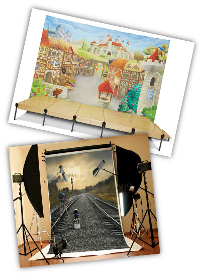 photo and stage backdrops