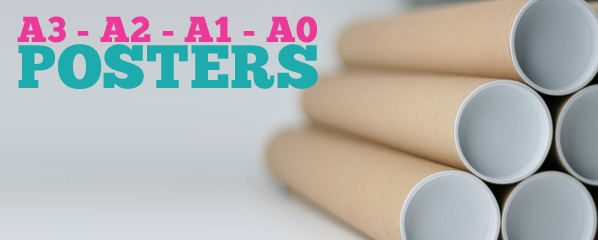 A0 to A3 Poster Printing services
